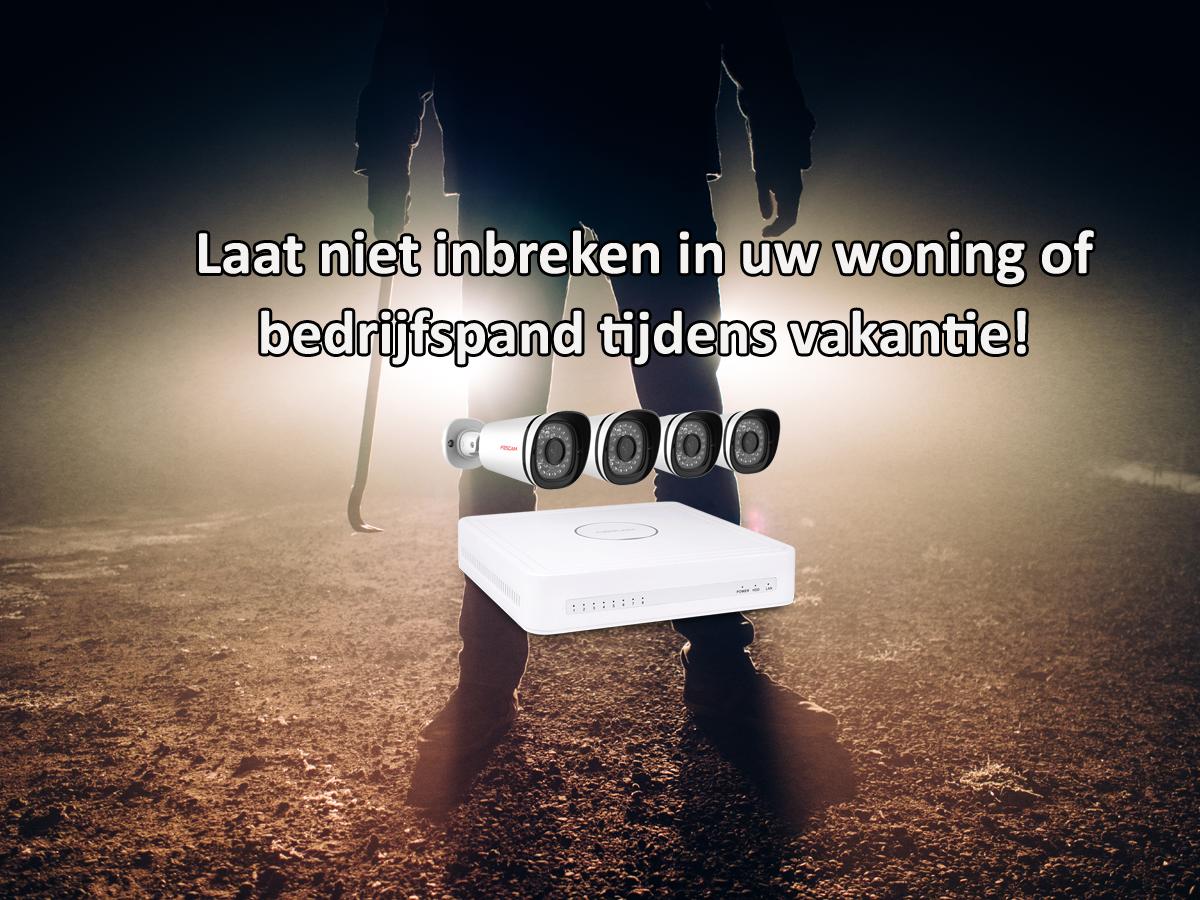 Beveilig uw woning of bedrijfspand met een IP camera